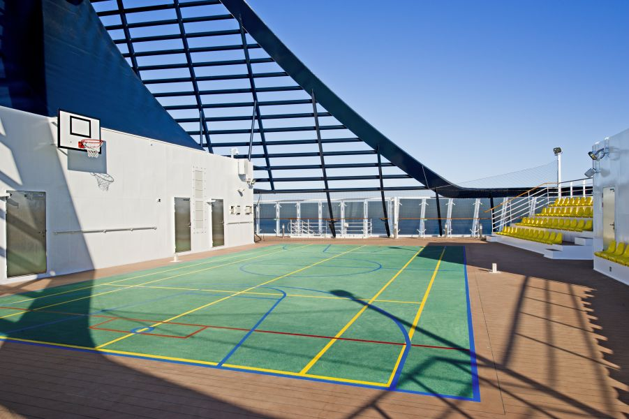 Caribbean Princess-health-and-fitness-Sports & Fitness Centre