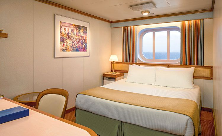 Coral Princess-stateroom-Oceanview Staterooms