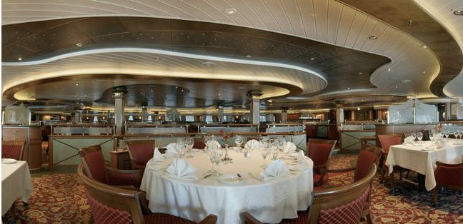 Coral Princess-dining-Anytime Dining- Bordeaux Dining Room