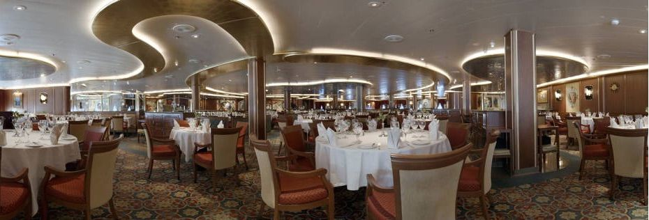 Crown Princess-dining-Anytime Dining- Michaelangelo & Da Vinci