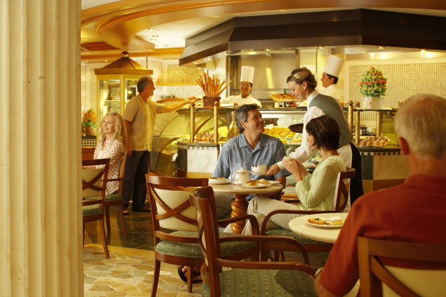 Crown Princess-dining-International Café