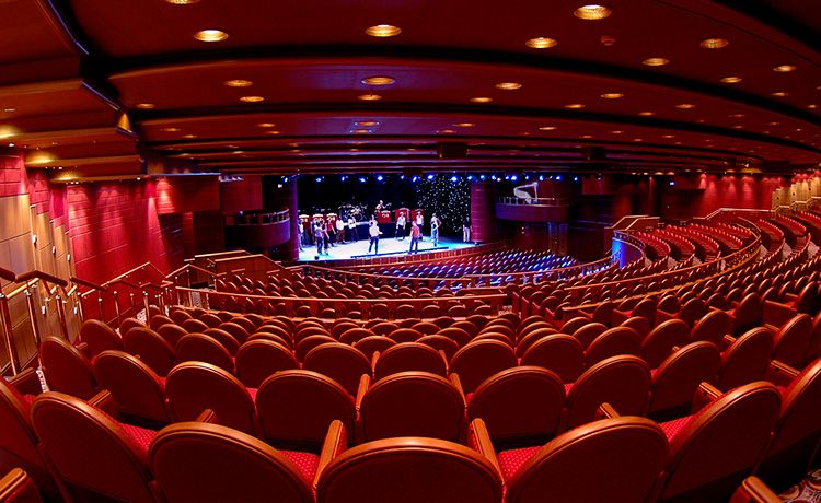 Crown Princess-entertainment-Princess Theatre