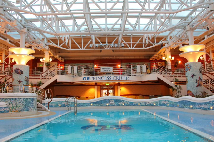 Crown Princess-health-and-fitness-Pools & Hot tubs
