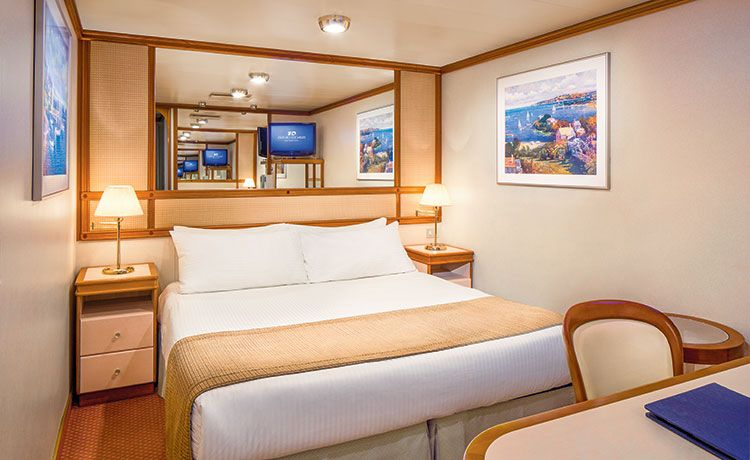 Emerald Princess-stateroom-Interior Staterooms