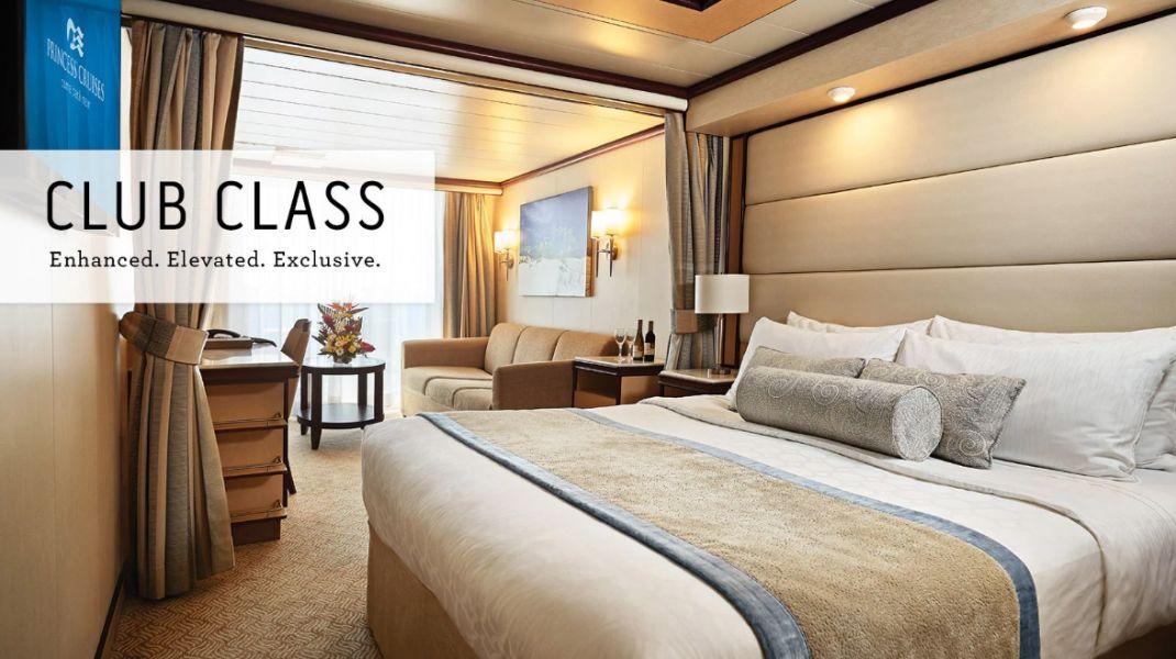 Enchanted Princess-stateroom-Club Class Mini-Suite