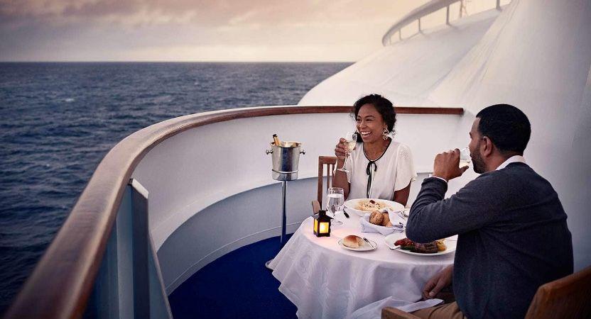 Enchanted Princess-dining-Ultimate Balcony Dining