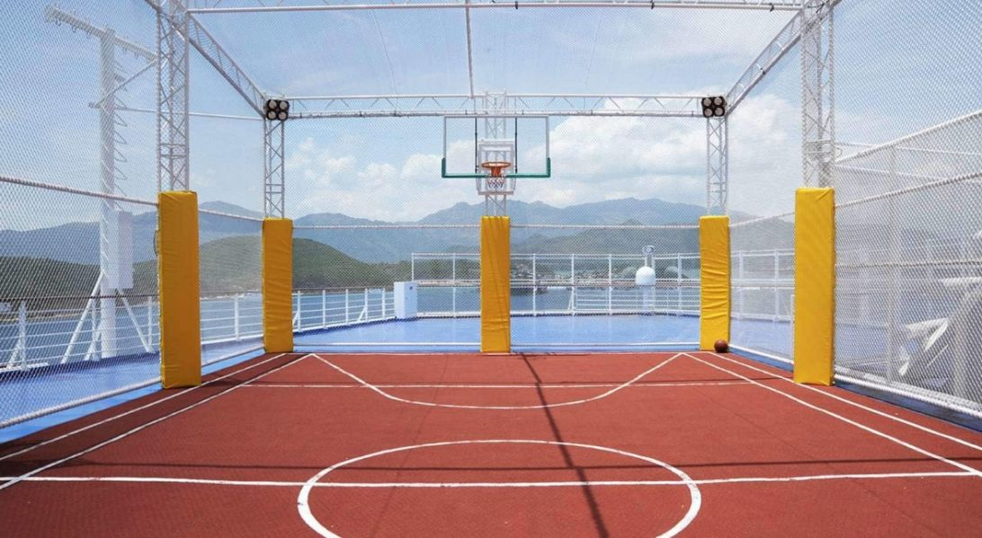 Enchanted Princess-health-and-fitness-Sports Court