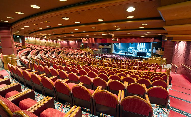 Golden Princess-entertaiment-Princess Theatre