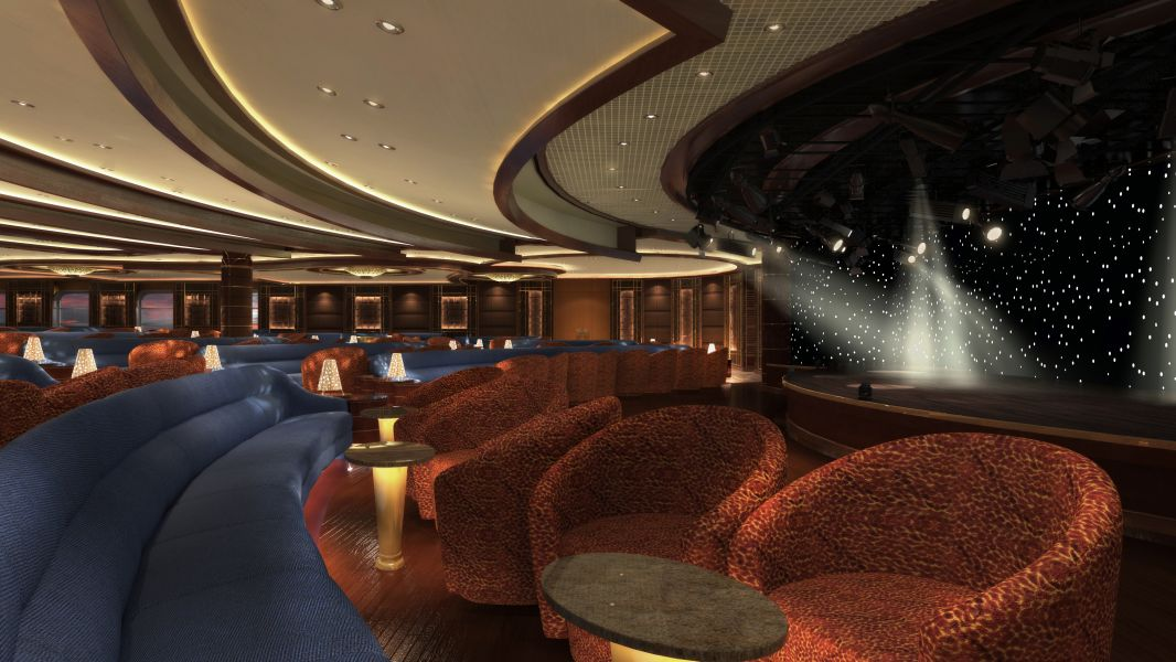 Golden Princess-entertaiment-Vista Show Lounge