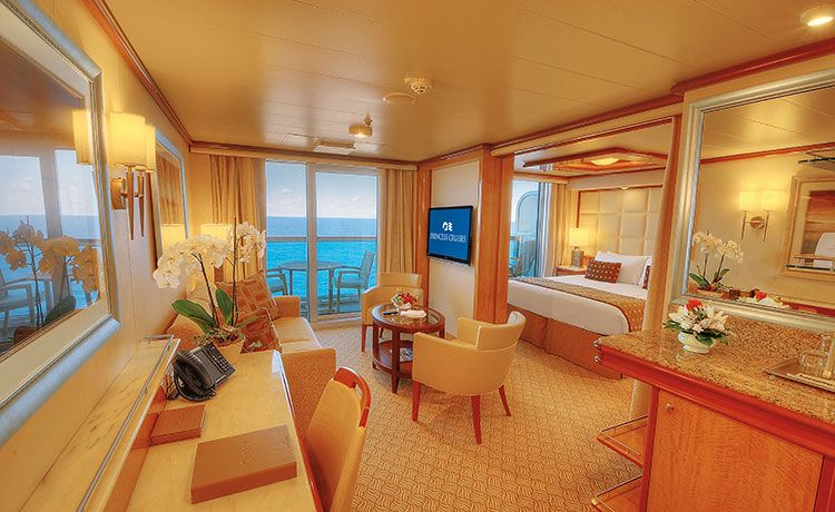 Majestic Princess-stateroom-Suite with Balcony