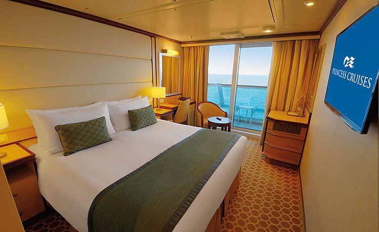 Regal Princess-stateroom-Premium Deluxe Balcony Stateroom