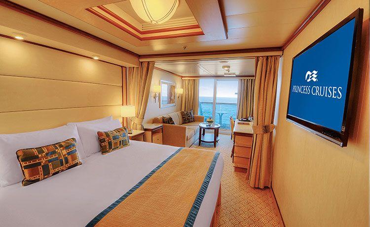 Regal Princess-stateroom-Premium Mini-Suite with Balcony