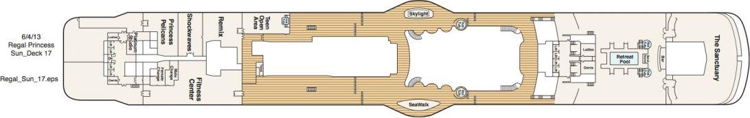 Regal Princess Deck 17