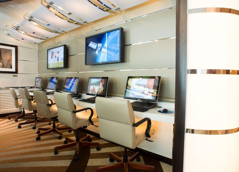 Regal Princess-entertainment-Internet Cafe