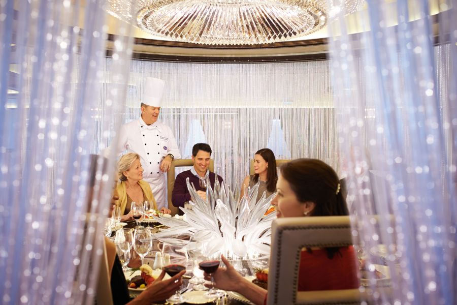 Royal Princess-dining-Chef's Table Lumiere