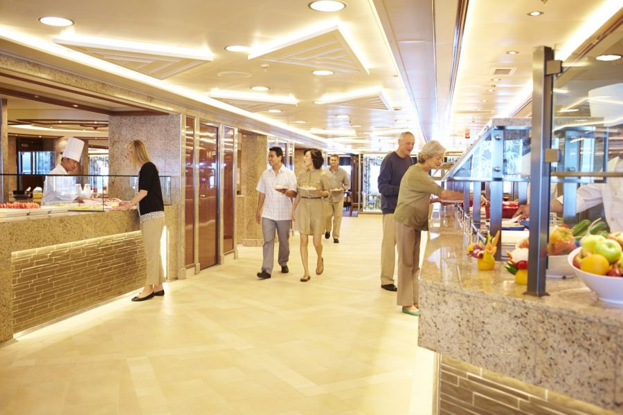 Royal Princess-dining-Horizon Court