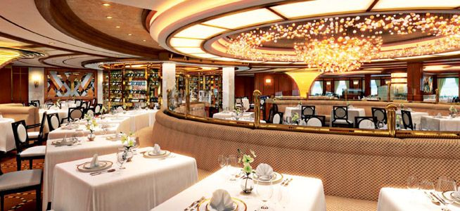 Royal Princess-dining-Traditional Dining- Symphony & Concerto