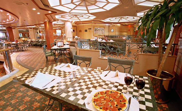 Ruby Princess-dining-Casual Dining