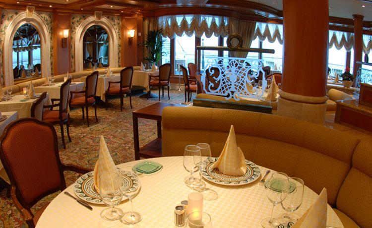 Sapphire Princess-dining-Sabatini's