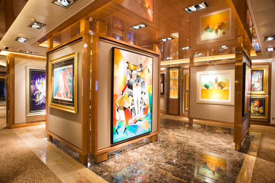 Sapphire Princess-enrichment-Art Collections, Galleries and Auctions