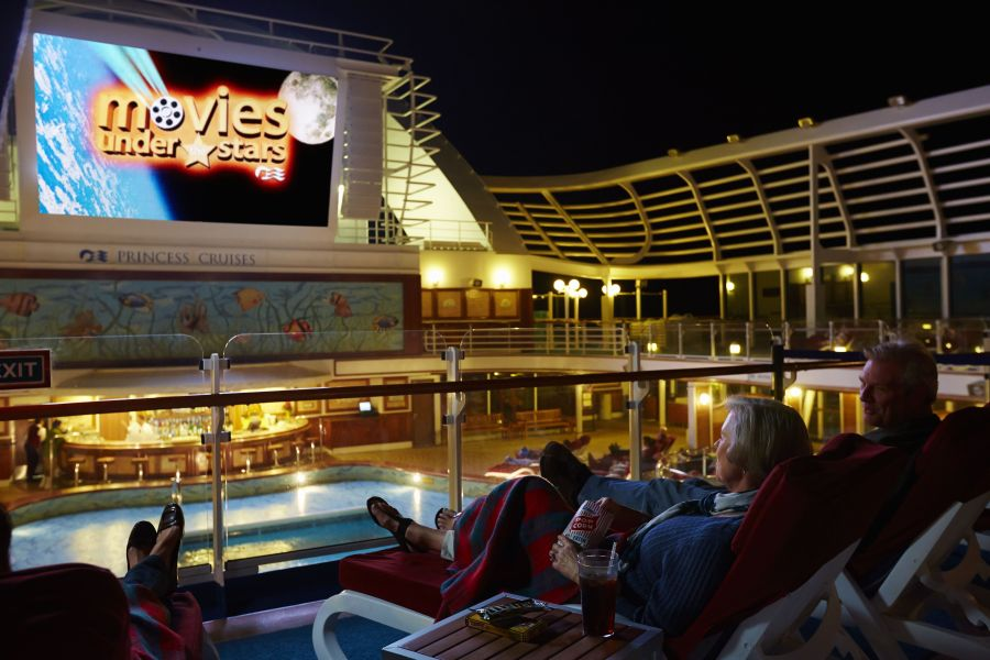 Sapphire Princess-entertaiment-Movies Under The Stars