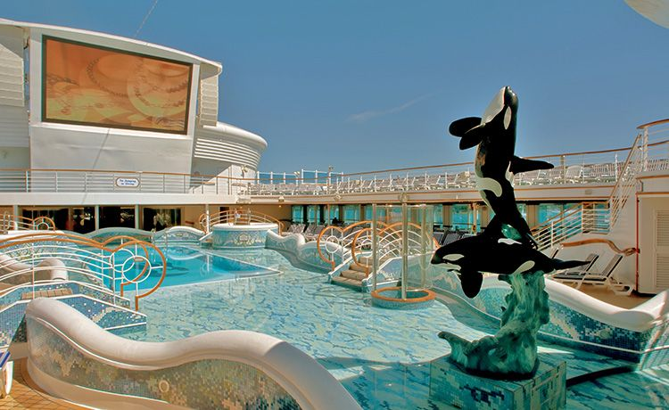Sapphire Princess-health-and-fitness-Pools & Hot tubs