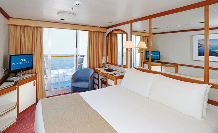 Sea Princess-stateroom-Balcony