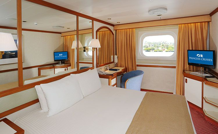 Sea Princess-stateroom-Oceanview