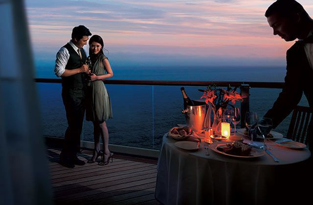 Sea Princess-dining-Ultimate Balcony Dining