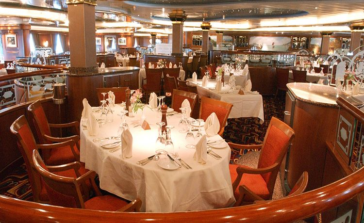 Sun Princess-dining-Traditional Dining- Marquis Dining Room