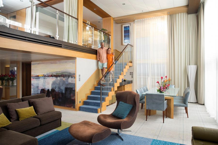 Harmony of the Seas-stateroom-Sky Loft Suite with Balcony
