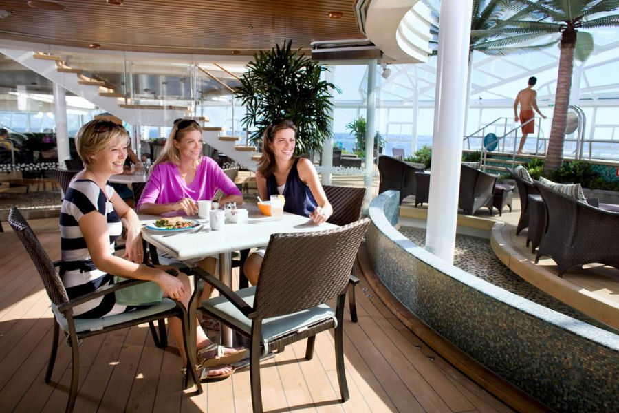 Harmony of the Seas-dining-Solarium Bistro