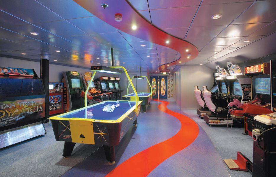 Harmony of the Seas-entertaiment-Video Arcade