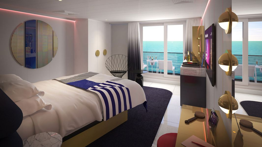 Scarlet Lady-stateroom-Seriously Suite (SS)